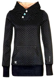 MODE THE WORLD: Ragwear Comfy Polka Dots Button Hoodie Love this!