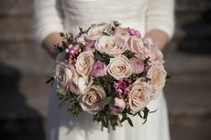 Bridal flowers at Stansted Park