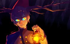 finally finished watching over the garden wall!  I'm surprised that beast wirt wasn't cannon :0