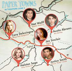 Paper Towns, this cast could make or break this. I'm excited to see how it goes.