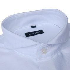 Extreme Cutaway White Oxford Shirt
