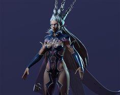 ArtStation - Shiva Final Fantasy XIV Fan art Sculpt, Marie-Michelle Pepin