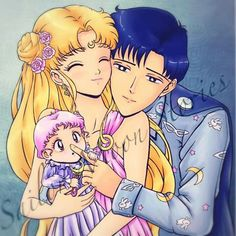 Neo Queen Serenity's Family ❤️