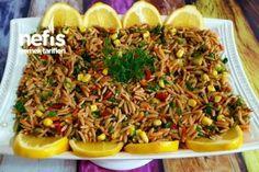 Arpa Şehriye Salatası (Orijinal) Tarifi