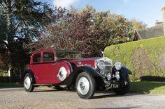 1933 Rolls-Royce Phantom II Continental Sports Saloon Coachwork by Park Ward.  Chassis no. 101MW Engine no. WP25