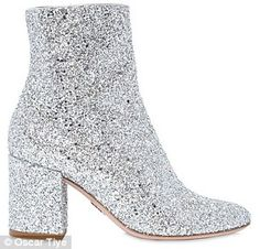 Take a cue from Gigi Hadid and SJP and shop glitter boots | Daily Mail Online