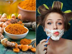 Turmeric mask to remove facial hair. - See you Bella - Belleza - Beauty Face Skin, Face And Body, Health Diet, Health Fitness, Beauty Secrets, Beauty Hacks, Beauty Skin, Hair Beauty, Turmeric Mask