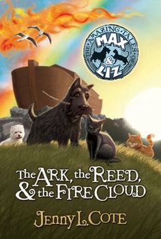 i really loved this book. the tale of Noah's Ark from the perspective of a scottish terrier, a petite black cat, an irish cat, and a westie, all on their way to Noah's Ark!