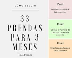 No sabes como elegir las 33 prendas para tu próxima temporada del Proyecto 333? Ifeeldress propone echar manos a las matemáticas. No te pierdas su ejemplo.