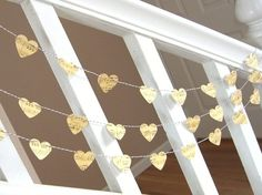 hearts cut out of sheet music - beautiful for a nursery. Baby's nursery will be Vintage Music theme, no matter if boy or girl