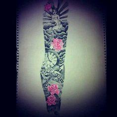 Sleeve   tatuajes   Spanish tatuajes   tatuajes para mujeres   tatuajes para hombres    diseños de tatuajes http://amzn.to/28PQlav