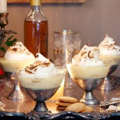 Big Papa's Banana Pudding by Tyler Florence topped with browned meringue!  Oh my goodness sooooo yummy!!!