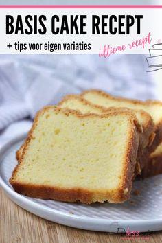 Cake Cookies, Cupcake Cakes, Marmer Cake, Cake Recept, Vegan Scones, Scones Ingredients, Cooking Bread, Cake Fillings, Dutch Recipes