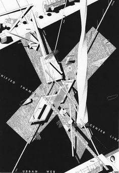 Habitable Bridge, London, by Daniel Libeskind Chinese Architecture, Concept Architecture, Architecture Drawings, Futuristic Architecture, Architecture Design, Paper Architecture, Architecture Office, Daniel Libeskind, Zaha Hadid Architects