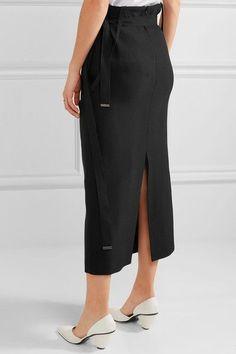 Joseph - Idaho Crepe Midi Dress - Black - FR38