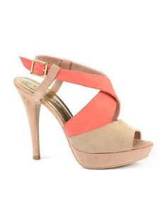 Light Brown (Brown) Vicar Colour Block Strappy Sandals | 238965921 | New Look £20