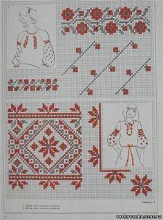 Ukrainian embroidery Chain Stitch Embroidery, Embroidery Stitches, Embroidery Patterns, Hand Embroidery, Cross Stitch Patterns, Palestinian Embroidery, Hungarian Embroidery, Bordado Popular, Stitch Head