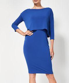 Loving this Cobalt Melody Dress on #zulily! #zulilyfinds
