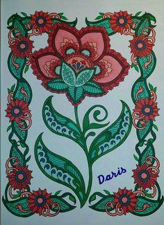 Flower Colored by Daris