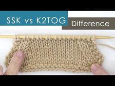 Knitting Technique tutorial help to understand how to make patterns. Get written knitting instructions and video tutorial demonstrations by Studio Knit. Ssk In Knitting, Knitting Basics, Knitting Help, Knitting Stiches, Knitting Videos, Crochet Videos, Knitting Projects, Crochet Stitches, Knitting Patterns