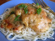 Olive Garden Pollo Limone Lemon Chicken Recipe - Genius Kitchensparklesparkle
