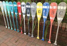 Remo pala muestra 40 pulgadas números carta arte por CastawaysHall
