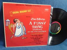 Vintage Zero Mostel A Funny Thing Happened On by sweetleafvinyl