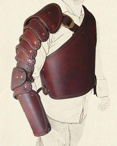 Image result for greek armor leather