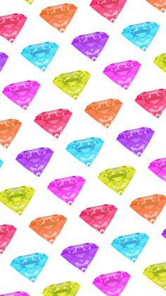 Diamond Wallpaper, Diamond Gemstone, Life Planner, Cool Wallpaper, Phone Wallpapers, Cool Designs, Backgrounds, Diamonds, Gemstones