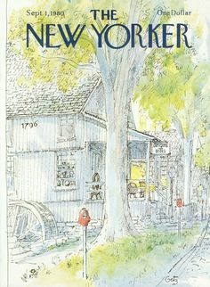 The New Yorker - Monday, September 1, 1980 - Issue # 2898 - Vol. 56 - N° 28 - Cover by : Arthur Getz