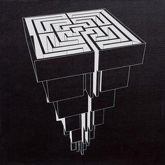 Pirámide laberíntica II