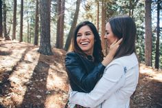 Lindsey + Jessie | Lake Arrowhead Lesbian Engagement » Steph Grant Photography
