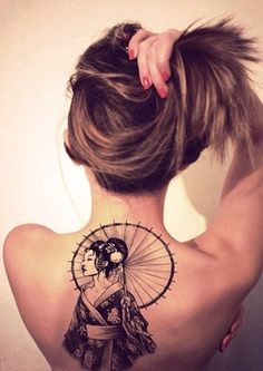 25-geisha tatto ideas