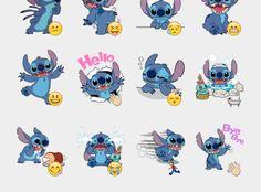 Stitch Stickers Set | Telegram Stickers