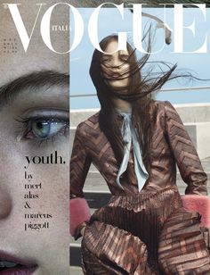 Youth Mert Alas & Marcus Piggott for Vogue Italia October 2015 cover - Gucci Fall 2015