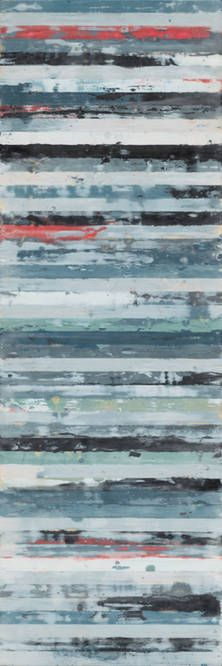 Investigate II by Leslie Saris Canvas Gallery Wrap 8x24 up to 16x48