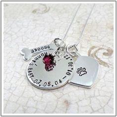 Dog Memorial Jewelry