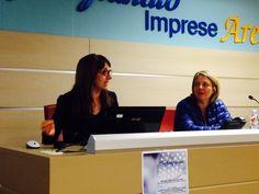 Manuela Boncompagni e Federica Bidi (Coordinatrice e Presidente Confartigianato Tintolavanderie)