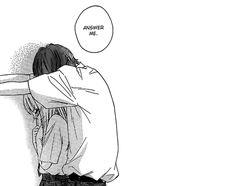 manga, anime, and love image Manga Cute, Cute Anime Pics, I Love Anime, Anime Couples Drawings, Anime Couples Manga, Yandere Manga, Anime Manga, Anime Amor, Cute Anime Coupes