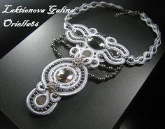 soutache separate choker necklace