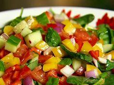 Get Gazpacho Salad Recipe from Food Network