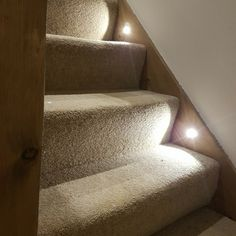 LED Plinth Lights can make your stairs into a feature in your home without breaking the bank! Find them here at Simple Lighting - Various Colours, Shapes & Finishes available...