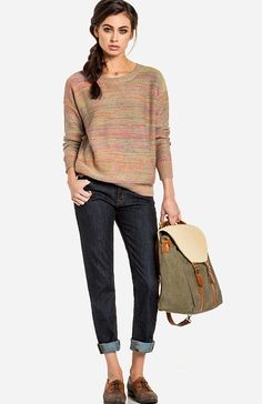 Check out Fall Semester at DailyLook: I love everything about this!