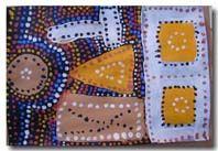 Thema Australië voor kleuters / aborigonal art