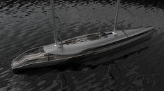 Cauta Super Sailing Yacht by Timur Bozca.