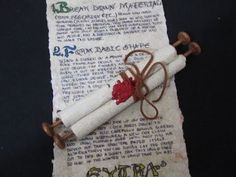 This is a tutorial on how to make a medieval scroll that looks great. It is a fun and easy project and what you put on the scroll is only limited by your ima...