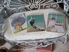 Vintage Fashion Magazines 1910 for Dollhouse by alavenderdilly, $7.50