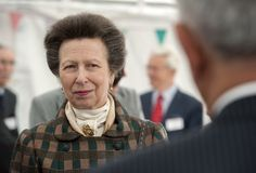 Princess Anne at the new visitor centre for the Clifton Suspension Bridge June 1/15