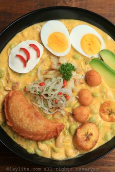 Ecuadorian Easter soup or fanesca Kitchen Recipes, Cooking Recipes, Healthy Recipes, Filet Mignon Roast, My Favorite Food, Favorite Recipes, Carribean Food, Ceviche Recipe, Filling Food