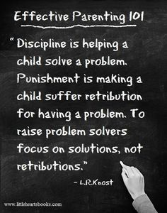 Effective parenting tip on discipline